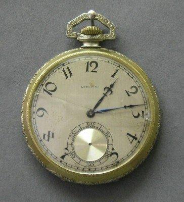17: Longines pocket watch