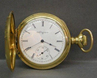 23: Elgin Men's pocket watch