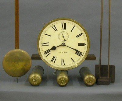 180: Junghans Grandfather clock movement