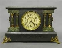211 Seth Thomas Black mantle clock