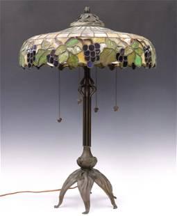 American Bent Panel Table Lamp