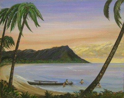 7: Lloyd Bowden Hawaiian seascape