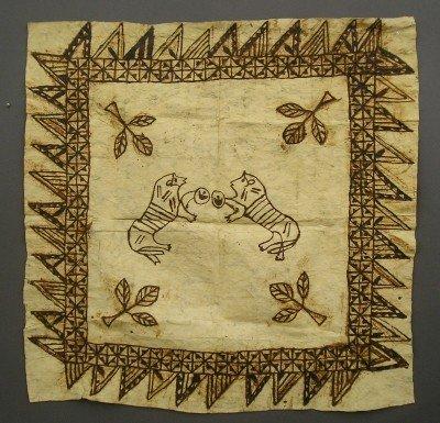 18: Polynesian Tappa Panel