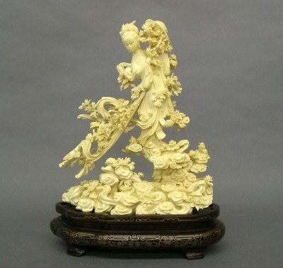 85: Chinese Ivory figure of a Maiden