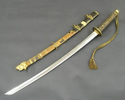 91: WWII Japanese Naval Officer's sword