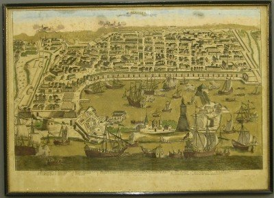 17: 18th Century Naval lithograph
