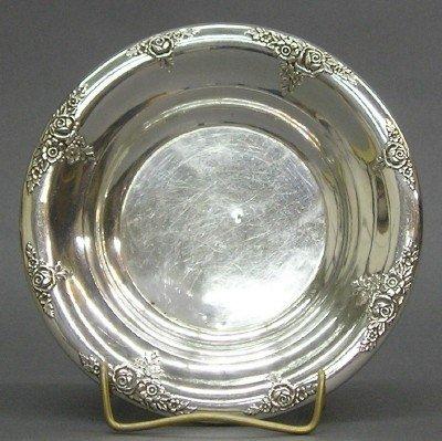 1: Sterling bowl