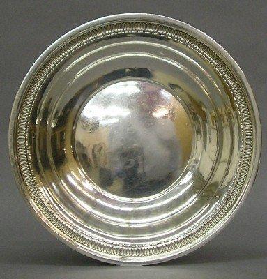 7: Sterling bowl