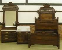 63: Victorian bedroom set