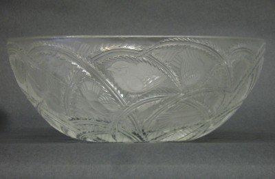 17: Lalique Pinsons bowl