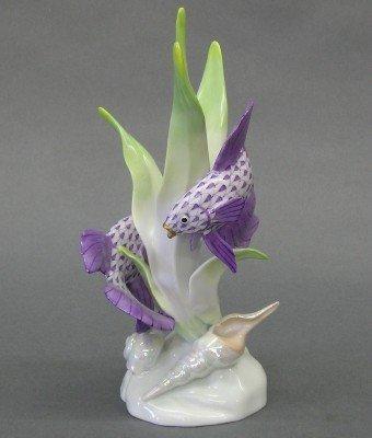 19: Herend porcelain figure