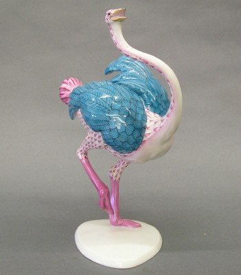 21: Herend porcelain figure