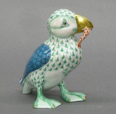 24: Herend porcelain figure