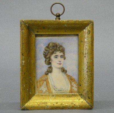 4: Ivory portrait miniature
