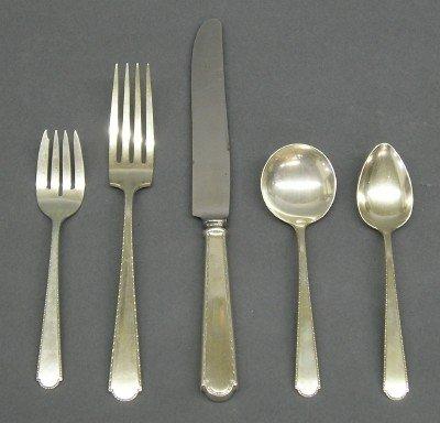 10: Sterling Silver flatware