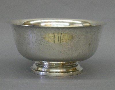 11: Sterling bowl