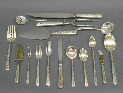 12: Sterling Silver flatware