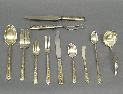 15: Sterling Silver flatware
