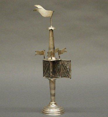 15: Austrian Silver spice tower