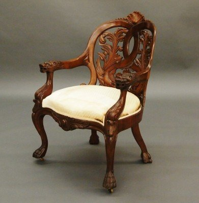 17: American laminated chair