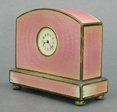 21: Austrian miniature clock
