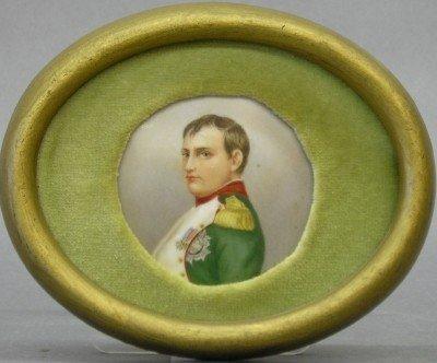 24: Portrait miniature of Napoleon