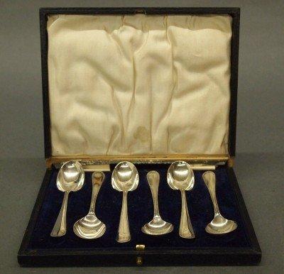 2: 6 Sterling teaspoons