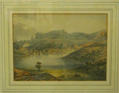 4: Watercolor landscape