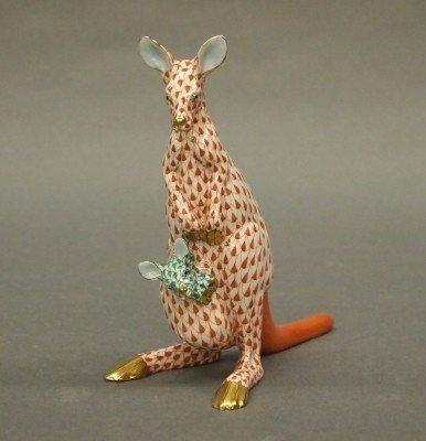 14: Herend porcelain Kangaroo