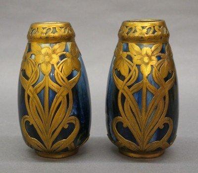 22: Pr Langlade vases