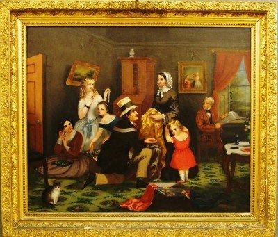 57: George Fish interior scene