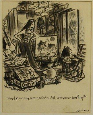 185: Whitney Darrow drawing