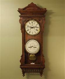 17: Waterbury #25 Calendar wall clock