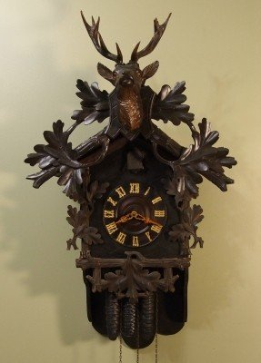 22: Black Forest Cuckoo clock