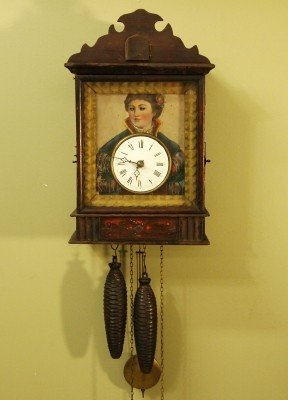 24: Black Forest wall clock