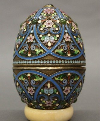 15: Russian Enameled egg