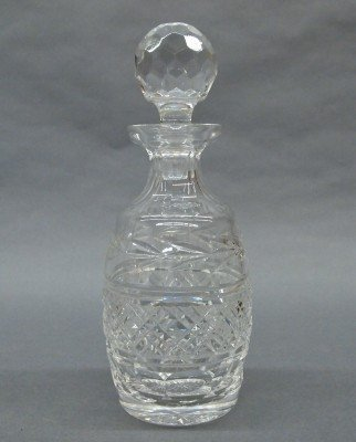 3: Waterford decanter