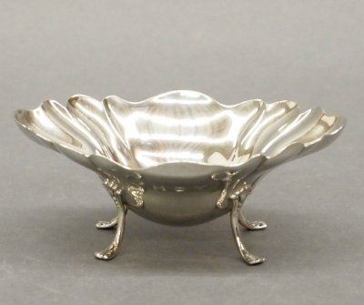 1: Silver footed bowl