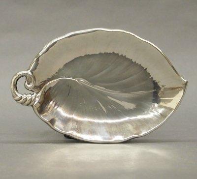 2: Silver leaf dish