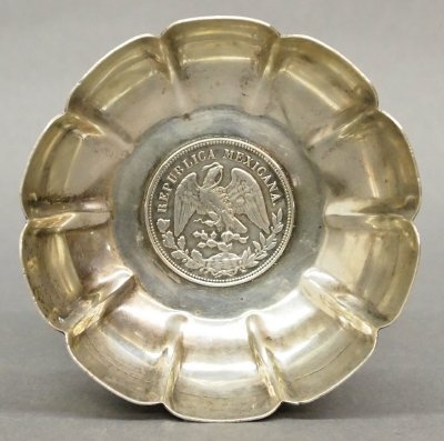 6: Mexican Silver bowl