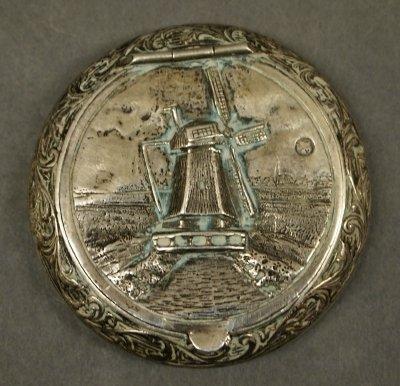 13: Dutch Silver snuff box