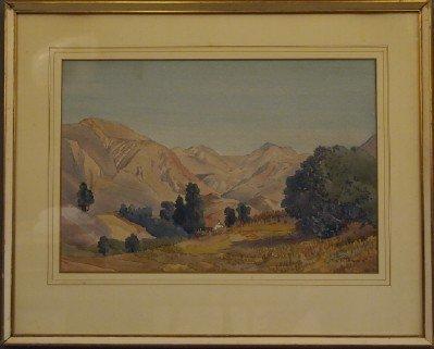 16: J W Theiss watercolor landscape