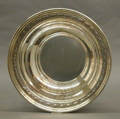 18: Sterling bowl