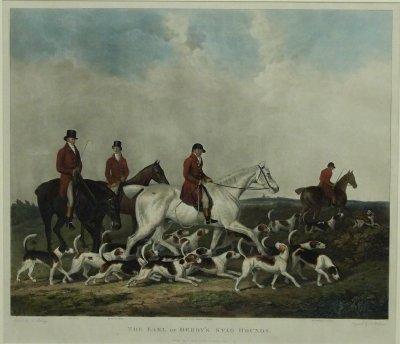 39: Hunt Scene Engraving