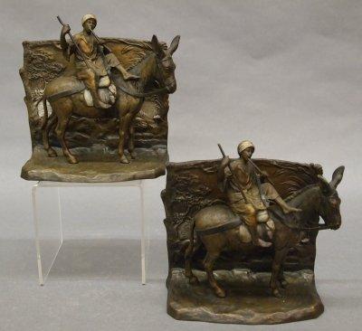 42: Bronze bookends