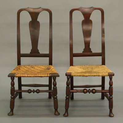 43: 2 American QA chairs