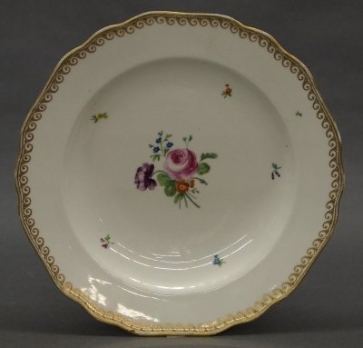 45: Royal Vienna plate