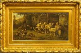 L Reinhardt farm scene