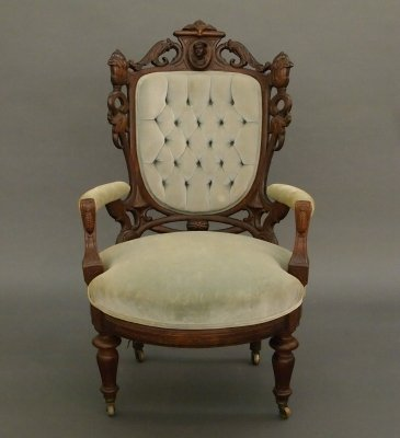 68: Victorian Rosewood chair