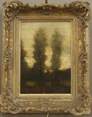 80: J B C Corot landscape